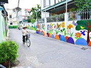 Mural paintings give fresh touch to rural streets