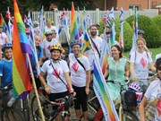 Nordic embassies hold Hanoi Pride Parade