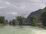 Quay Son river, beautiful spot in northern border area