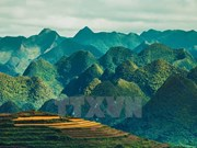 Overwhelming mountainous landscapes of Ha Giang