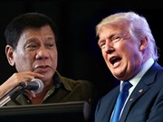 US, Philippine Presidents meet for first time