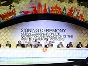 ASEAN reach consensus on protecting rights of migrant workers