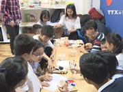 Autistic kids benefited from special library