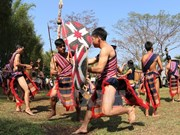 Kon Tum: Xo Dang-Xo Teng ethnic people celebrate water piping festival