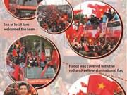 Vietnam's U23 team return home to warm welcome