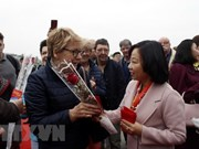First foreign tourists of Lunar New Year welcomed