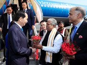 President Tran Dai Quang arrives in New Delhi for State visit to India