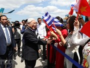 Party chief begins State visit to Cuba
