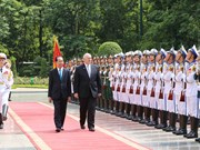 Official welcome ceremony for Australia's Governor-General