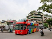 Hanoi launches double-storey bus service