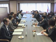 Deputy PM pays visit to Japan
