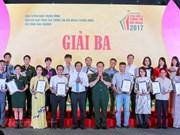 Best works in external information service honoured