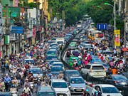 Vietnamese traffic - An organised mess