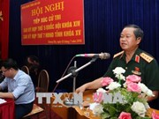 NA Vice Chairman meets voters in Lao Cai province
