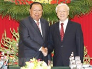 Top Lao leader pays five-day visit to Vietnam