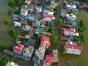 Riverside villages of Hanoi submerged in floodwater