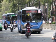 Hanoi launches first CNG-fuelled bus routes