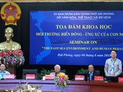 Impact on East Sea environment discussed