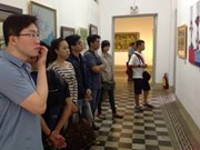 20th Mekong Delta fine art exhibition introduces 233 works