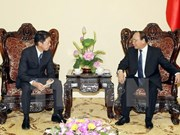 Deputy PM welcomes Japanese guest