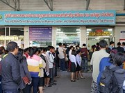 Thailand officially receives Vietnamese workers