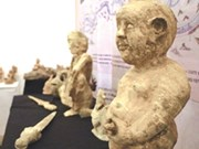 Hanoi hosts sculpture exhibit