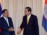 Thai, Cambodian PMs talk to promote multifaceted links