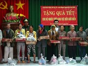 Charity events ensure warm Tet for needy people