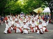 Japan-like cherry blossom festival Shinnen 2016 in Hanoi