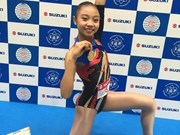 Young Vietnamese woman wins aerobics World Cup gold