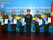 Five more Vietnamese officers to join UN peacekeeping operations