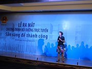 Female candidates receive training for parliament election campaigning