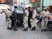 Thailand tightens security in south's largest city