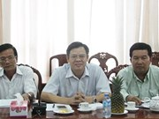WB reviews agriculture transformation project in Hau Giang