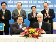 Sacombank ties with Japanese banks