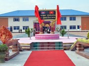 Vietnam-funded military school headquarters inaugurated in Cambodia
