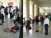 Explosion strikes Bangkok's central railway station