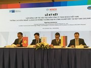 Bosch-Lilama deal signed to offer mechatronics training