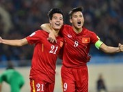 Vietnam jump 12 places in world rankings