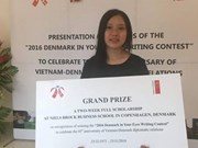 Writing contest marks Vietnam-Denmark diplomatic ties
