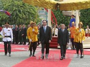 President Tran Dai Quang welcomed in Cambodia