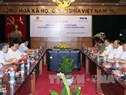 VNA, Bac Giang shake hands in communication work