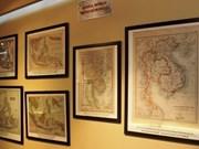 Documents on Hoang Sa, Truong Sa exhibited in Tra Vinh