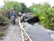 Mekong Delta faces worsening land subsidence