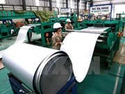 Steel corporation records stable growth in six months