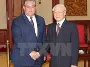 Vietnamese, Greek communist parties boost relations
