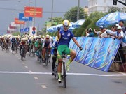 Nguyen Thi That maintains lead at cycling tournament