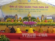 Praying ceremony for peace held in Lao Cai