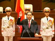 Tran Dai Quang re-elected as President