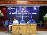 National Volunteer Award 2016 launched in Hanoi